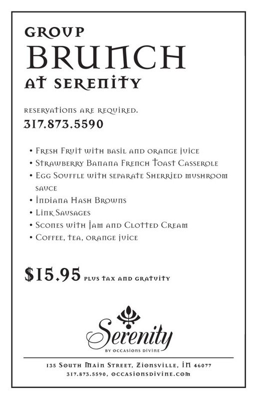 Group Brunch at Serenity
